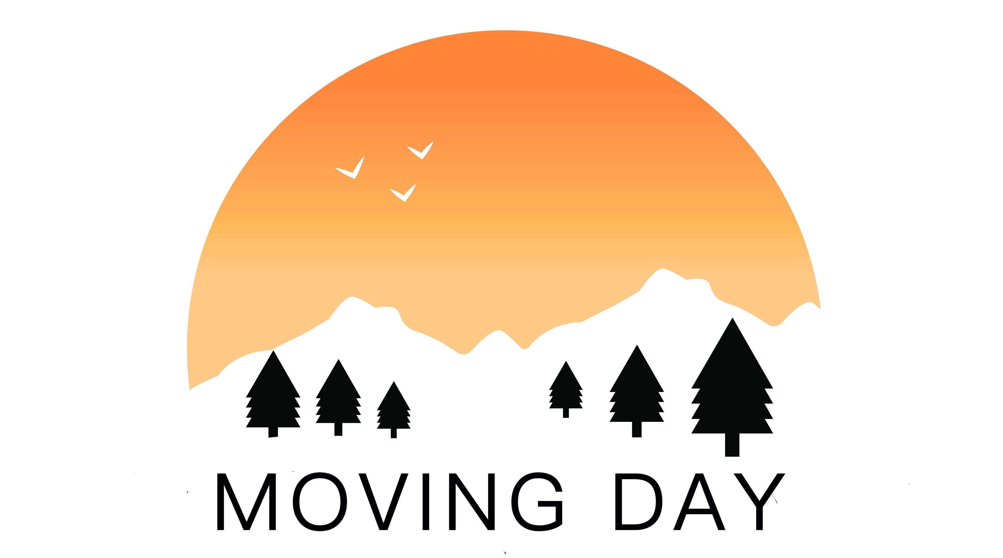 Keep calm, it's moving day